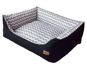 Cama Cozy Preta Beds For Pets Tamanho P