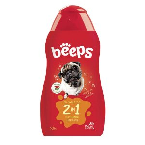 Shampoo Pet Society Beeps 2 em 1