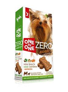 Mini Snack ZERO Spin Pet - Coco + Abobora + Castanha