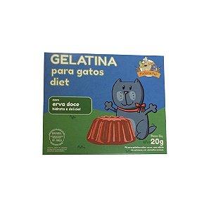 Gelatina para Gatos com Erva Doce