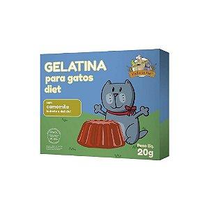 Gelatina para Gatos com Camomila