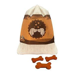 Biscoitos Naturais para Cães Sabor Laranja
