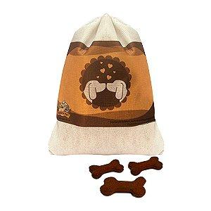 Biscoito Naturais para cães Sabor Chocolate