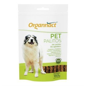 ORGANNACT PET PALITOS SACHET 160GR