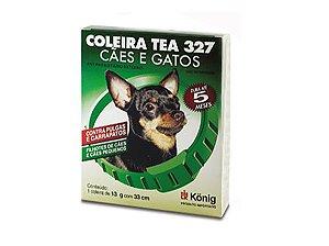 Coleira Tea 327 Cachorro  13 G 33 cm