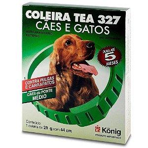 COLEIRA TEA 327 CAO 28 G 44 CM