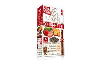 Stick GOURMET FIT Spin Pet - 50g - Morango + Batata Doce + Chia