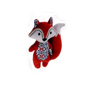 Brinquedo Pelúcia Mini Fox - AFP