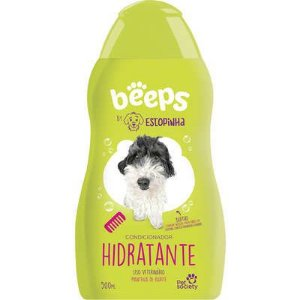 Condicionador Hidratante Pet Society Beeps Estopinha Manteiga de Karité