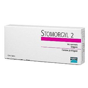 Antibiótico Merial Stomorgyl 2 para Cães e Gatos - 20 Comprimidos