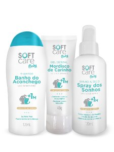 Kit Soft Care Baby Para Cães e Gatos