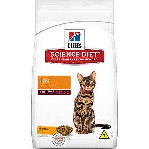 Ração Hills Science Diet Light para Gatos Adultos 3kg