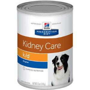 Ração Hills Canine Prescription Diet K/D Lata - 370 g