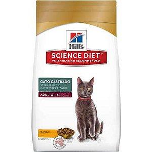 Ração Hills Science Diet Sterelized Frango para Gatos Adultos Castrados 3kg