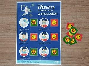 Combate Coronavírus: A Máscara
