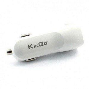 Carregador Veicular USB Duplo 3.1A  KINGO
