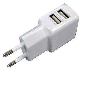 Carregador Tomada USB Duplo 3.1A