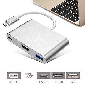 Adaptador de USB-C 3.1 para multiporta - HDMI, USB para Macbook