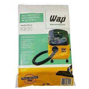 Kit filtro Descartável papel 3X10L Wap Cod: 90000100