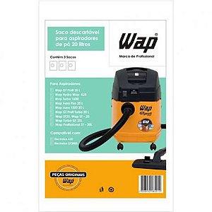Kit Filtro Descartável Papel 3x20l Wap Cod: 90000200