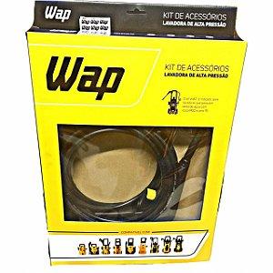 Kit Pistola + Lança + Mangueira 5m Nylon Wap Eco Wash