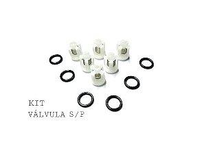 Kit Reparo Cmplt Válvula+vedação+axial+by Pass Wap Bravo