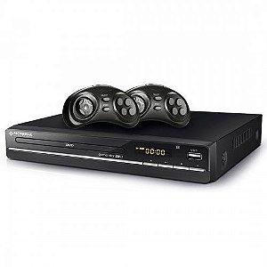 DVD Player Game Star USB Karaokê Mondial 3680 127V