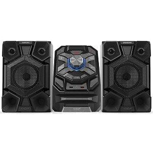 Mini System Samsung MP3 Duplo USB Giga Sound Ripping 200W MX-J640
