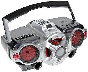 Rádio Gravador Sony CFD-RG880 USB MP3 Player Controle Remoto