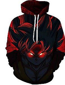 Blusa De Frio Moletom Unissex Dragon Ball Goku  Full