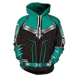 Blusa De Frio Capitã Marvel Vingadores Heróis