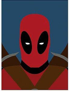 Painel Quadro 1 Tela Deadpool Filme 60x40cm