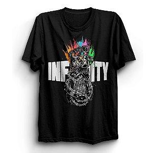 Camiseta Os Vingadores Guerra Infinita Avengers Infinity Wa
