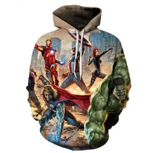 Blusa De Frio 3d Full Vingadores Avengers Filme Personagens