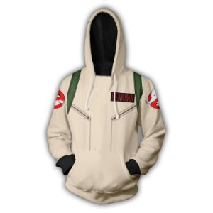 Blusa De Frio 3d Full Ghostbusters Cosplay Filme
