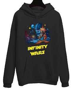 Moletom Blusa Canguru Vingadores Infinity Wars Avengers Filme Cinema
