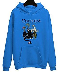 Blusa Moletom Canguru Got Game Of Thrones Daenerys  Mãe Dos Dragões
