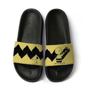 Chinelo Slide Unissex Snoopy Charlie Brown