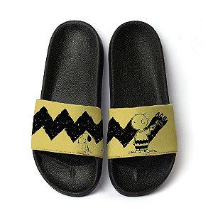 Chinelo Slide Unissex Snoopy Charlie Brown