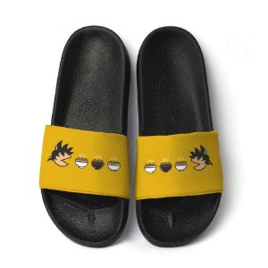 Chinelo Slide Unissex Goku Dragon Ball Food