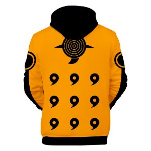 Moletom Blusa 3d Full Naruto Uniforme Anime