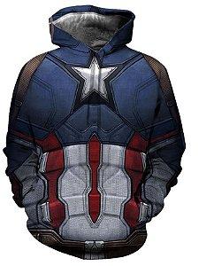 Blusa De Frio 3d Full Filme Vingadores Filme Avengers Capitão America