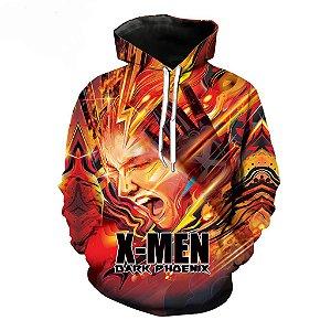 Blusa De Frio 3d Full Filme Estreia X-Men Fênix Negra Movie