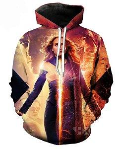 Blusa De Frio 3d Full Filme Estreia X-Men Fênix Negra