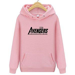 Moletom Blusa Canguru Avengers Vingadores