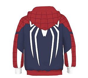 Blusa Moletom Infantil 3d Full Homem Aranha Spider Vingadores Avengers