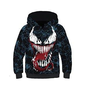 Blusa Moletom Infantil 3d Full Venom Filme Movie