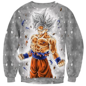 Blusa Moletom Careca 3d Full Anime Goku Dragon Ball