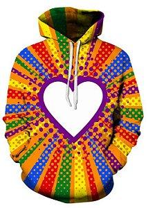 Blusa De Frio 3d Full Toda Forma De Amor LGBTQ