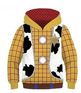 Blusa Moletom Infantil 3d Full Toy Story Woody Sherife